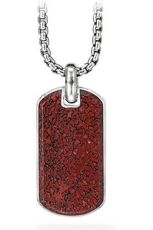 David Yurman Men Necklaces - Exotic Stone Streamline Tag