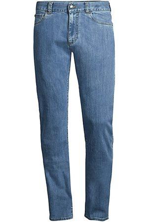 CANALI Men Straight - Straight-Leg Stretch Jeans