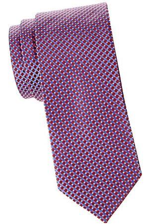 Eton Men Neckties - Micro Circle Silk Tie