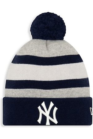 New Era Men Gloves - EK New York Giants Striped Knit Beanie