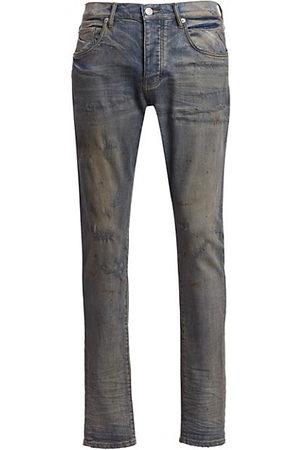 Purple Brand P001 Oil Repair Finish Skinny Jeans