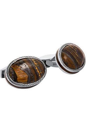 Tateossian Tiger Iron Cufflinks