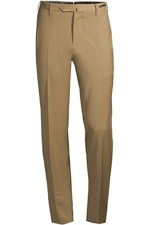 PT01 Men Formal Trousers - Traveller Slim-Fit Performance Wool Trousers