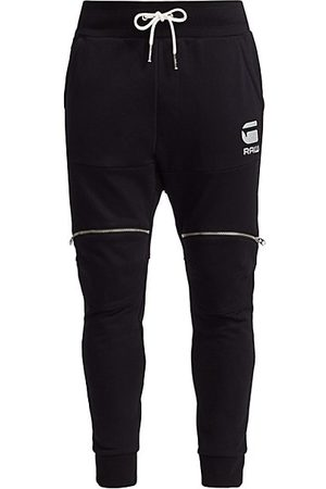 G-Star Silver Accent Zip Joggers