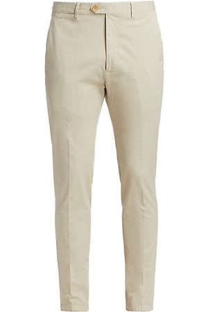 Ralph Lauren Men Slim Trousers - Eaton Slim-Fit Twill Pants