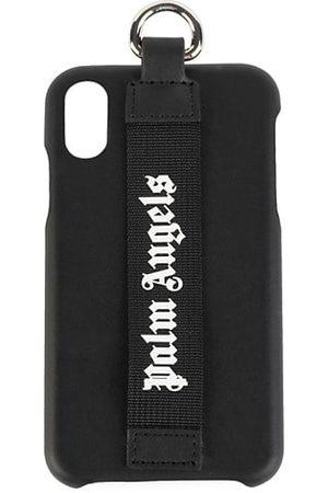 Palm Angels Men Phone Cases - Logo Strap iPhone XS Case