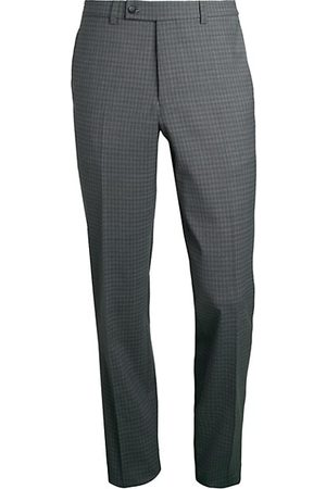 Saks Fifth Avenue Men Formal Trousers - COLLECTION Tonal Check Wool-Blend Trousers