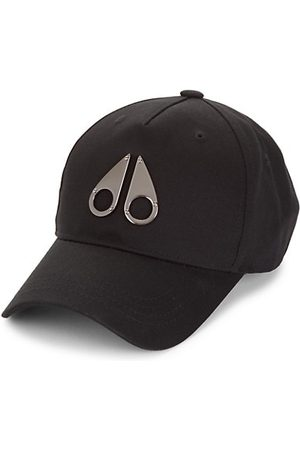 Moose Knuckles Men Caps - Space Age Logo Icon Baseball Cap