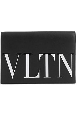 VALENTINO Garavani VLTN Leather Pouch With Card Case