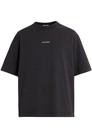 Acne Studios Men Short Sleeve - Extorr Stamp T-Shirt