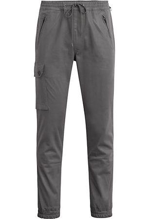 Joes Jeans Men Joggers - Coated Drawstring Joggers