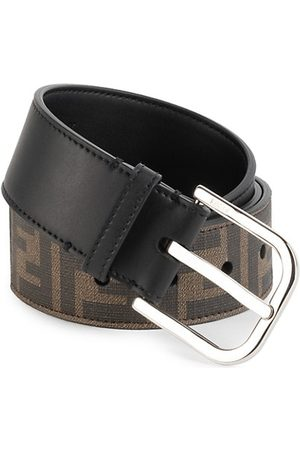 Fendi Men Belts - FF Logo Belt