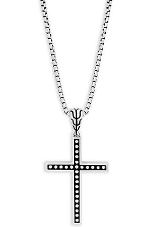 John Hardy Classic Cross Pendant Necklace