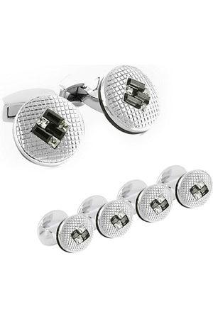 Tateossian Men Cufflinks - SW Interlock Cufflinks