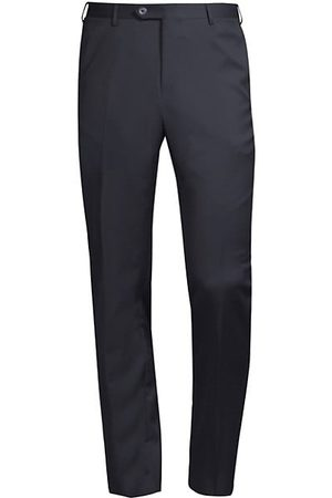 corneliani Men Formal Trousers - Straight Wool Trousers