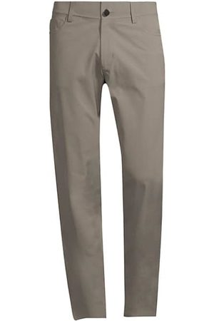 THEORY Men Stretch Trousers - Tech Raffi Straight-Fit Stretch Pants