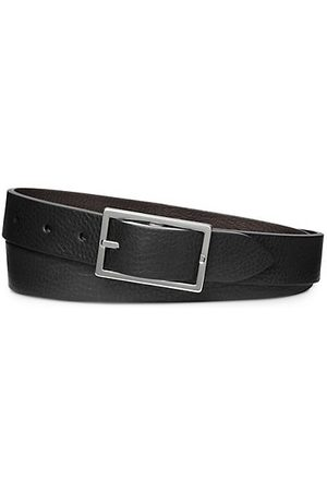 SHINOLA Four-Notch Leather Belt