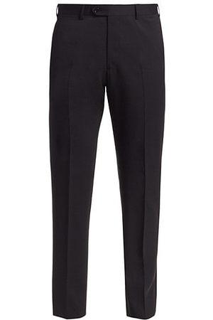 Armani Solid Wool Pants