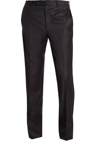 Saks Fifth Avenue Men Formal Trousers - COLLECTION Wool Dress Pants