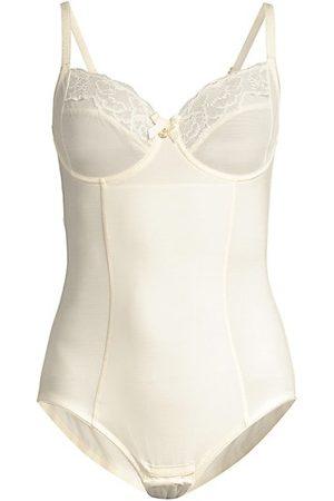 Chantelle Lace-Trim Corset Bodysuit