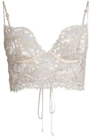 Kiki de Montparnasse Beaded Long-Line Bra