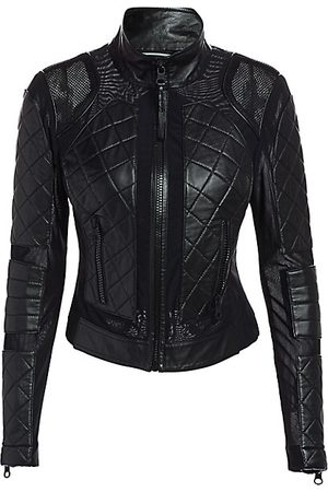 Blanc Noir Women Leather Jackets - Leather Moto Jacket