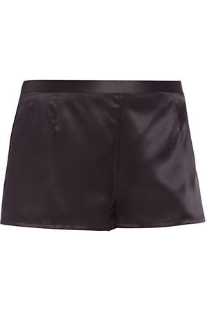 La Perla Silk Satin Tap Shorts