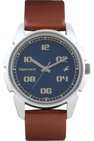 Fastrack Men Blue Dial Watch 3124SL02