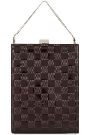 LOUIS VUITTON 2000 pre-owned Damier Ange chain tote bag