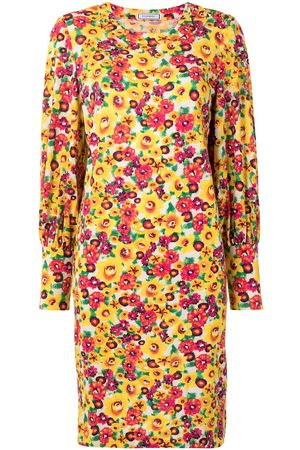 Yves Saint Laurent Floral print shift dress
