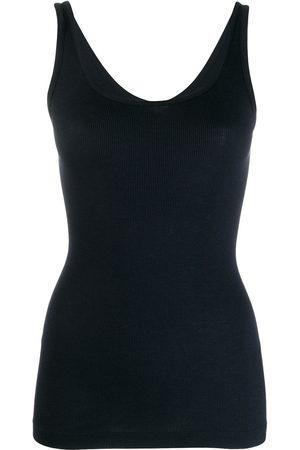 Vince Women Vests - Basic ribbed vest
