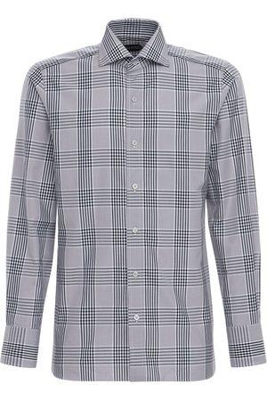 Tom Ford Oxford Check Cotton Shirt
