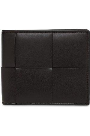 Bottega Veneta Maxi Intreccio Leather Billfold Wallet