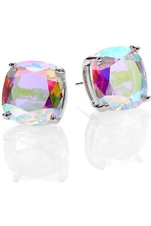 Kate Spade Earrings - Iridescent Small Square Stud Earrings