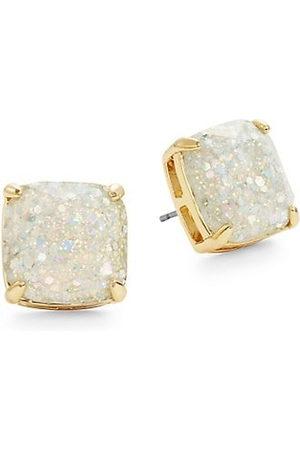 Kate Spade Earrings - Glitter Square Stud Earrings