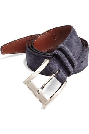 Saks Fifth Avenue Men Belts - COLLECTION Suede Belt