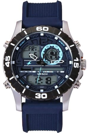 Fastrack Men Blue Analogue and Digital Watch 38035SP02J