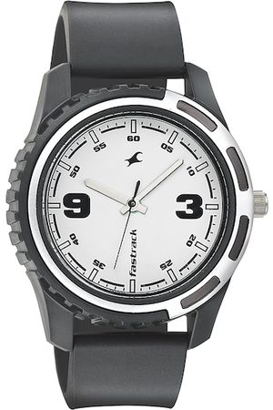Fastrack Men White Dial Watch 3114PP01