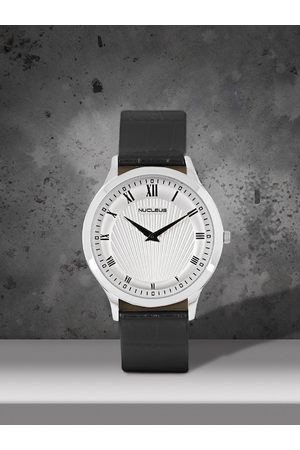 Nucleus Men Silver-Toned Analogue Watch D3i