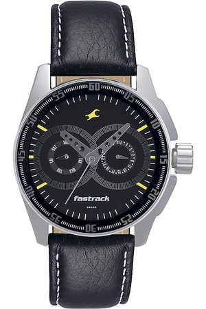 Fastrack Men Black Dial Watch NF3089SL02