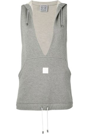 Chanel Pre-Owned 2000s sleeveless hooded top
