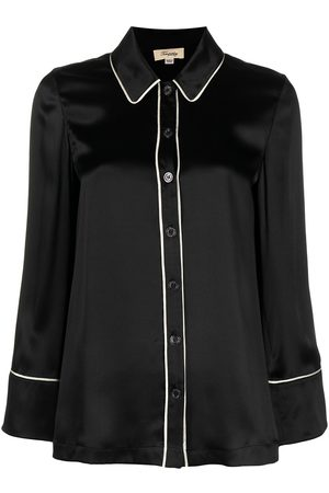 TEMPERLEY LONDON Elpis buttoned pyjama shirt