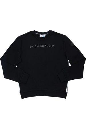 North Sails Logo Print Cotton Sweatshirt