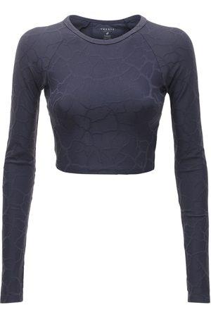 TWENTY MONTREAL Women Crop Tops - Long Sleeve Crop Top