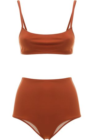 Lido Undici Bralette & High Waist Bikini Set