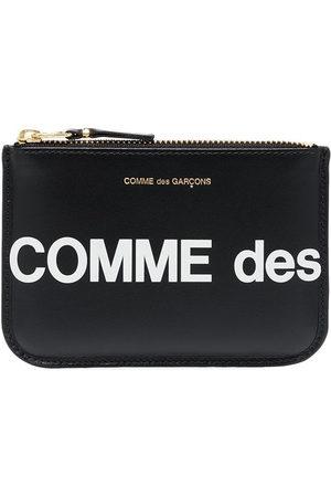 Comme des Garçons Logo print zipped pouch