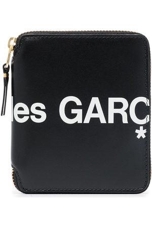Comme des Garçons Logo-print zip-fastening wallet