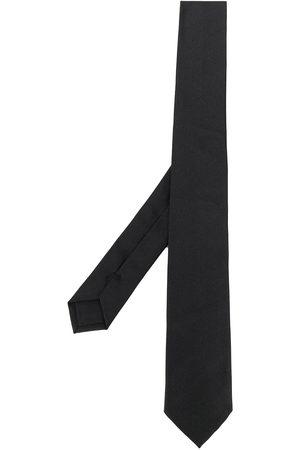 Jil Sander Men Bow Ties - Horizontal-stripe pattern silk tie