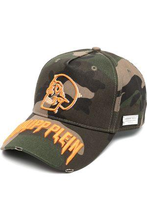 Philipp Plein Camouflage-print cap