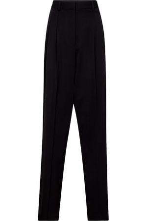 Stella McCartney High-rise straight wool pants